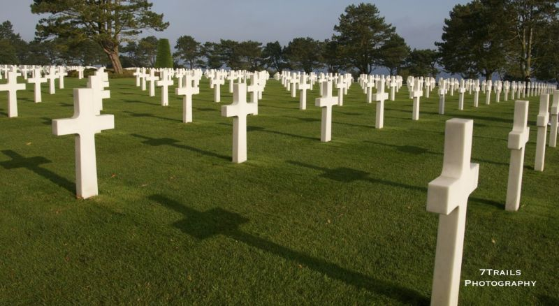 Normandy American Military Cemetary and Memorial