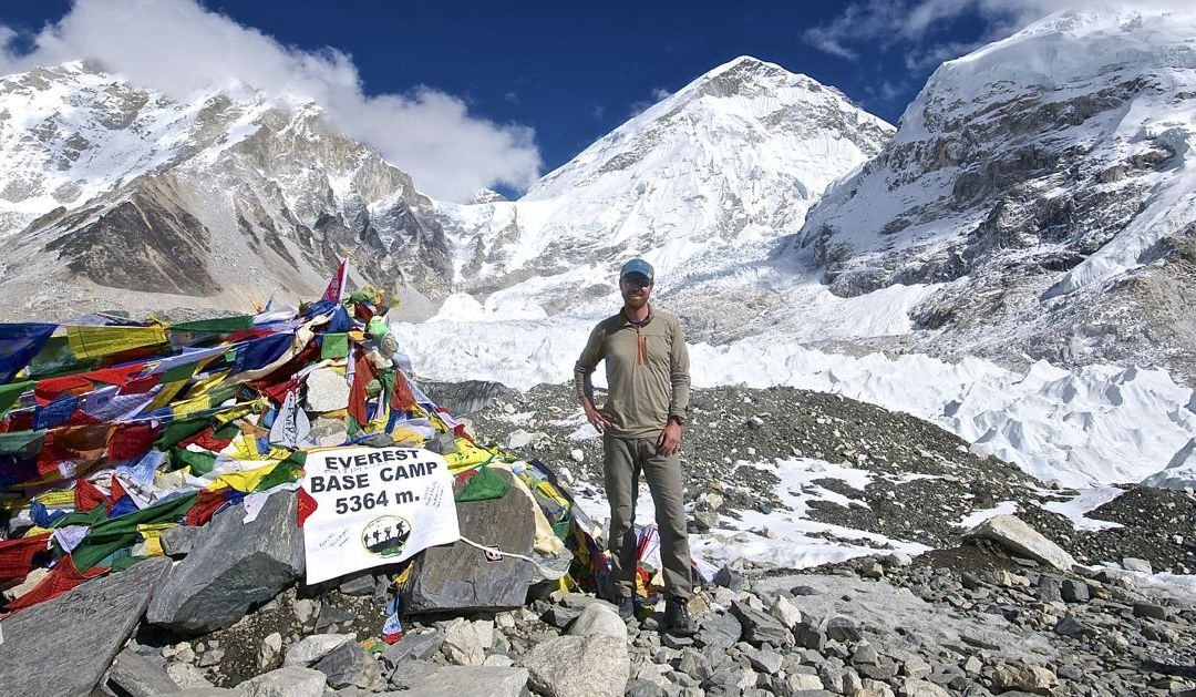 Namaste, Everest Base Camp