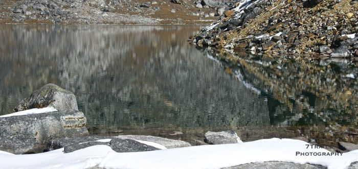 Unnamed lake below Renjo La.