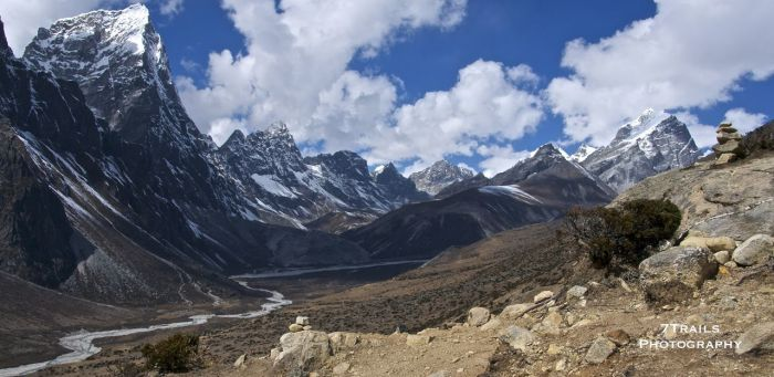Valley near Dingboche