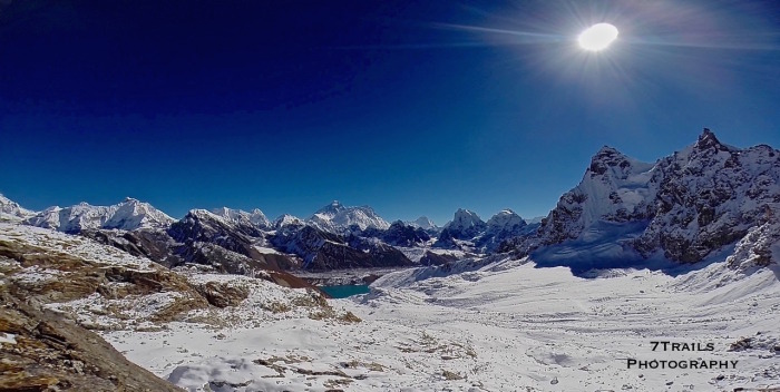 Everest Panorama from Renjo La