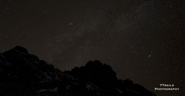 Milky Way at Thorung Phedi
