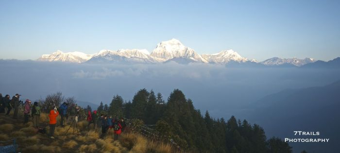 Annapurna I from Poon Hill