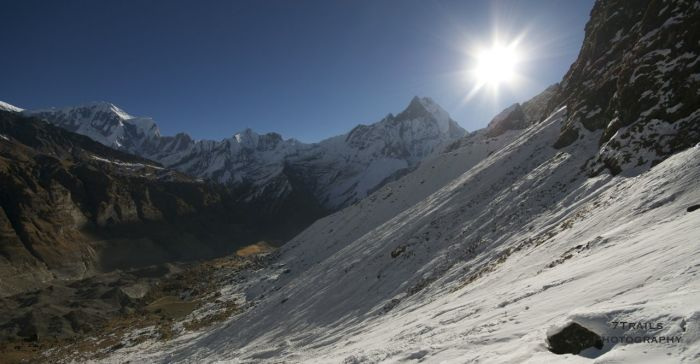 Macchapuchhre from Annapurna Base Camp