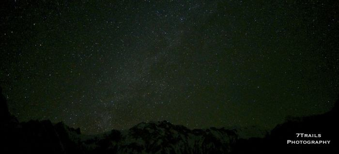 Stars at Annapurna Base Camp