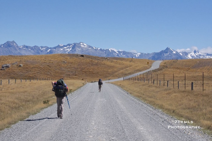 Road Walk from Tekapo