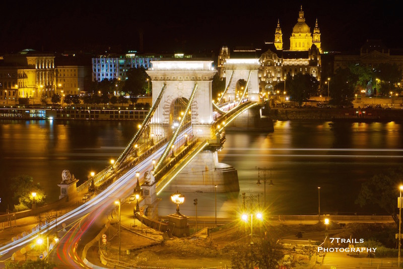 Chain Bridge and St. Stephen's Basilica