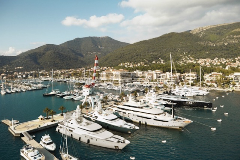 Porto Montenegro, the 2015 Super Yacht Marina of the Year (Photo courtesy of Porto Montenegro, http://www.portomontenegro.com/en/marina)