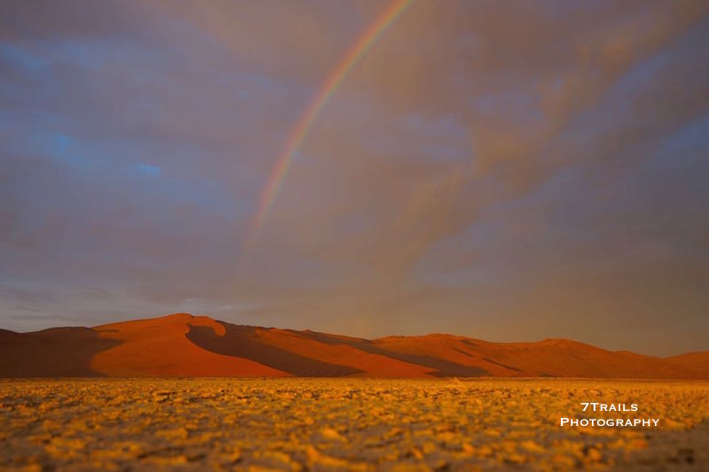 Storm clearing over Sossusvlei