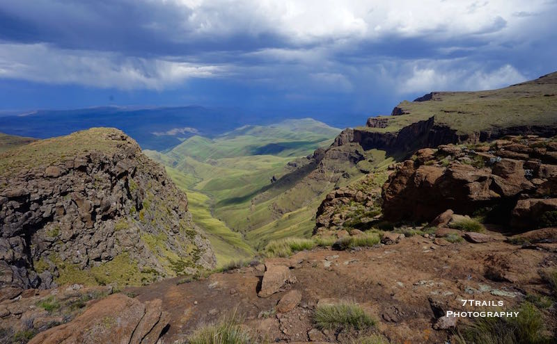 View of the underberg near Ka-Masihlenga Pass