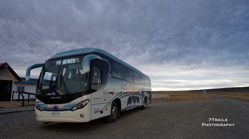 Bus to Puerto Natales